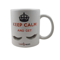 Tazza LashDream - Keep Calm and Get Lashes