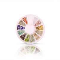 Crystals mix 11 colours 550pc for eyelashes